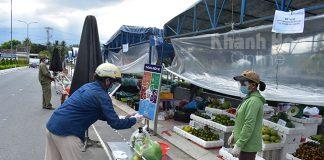 đưa chợ về tổ dân phố
